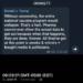 ΔΗΛΩΣΗ ΤΡΑΜΠ ΣΗΜΕΡΑ ΓΙΑ ΤΟ ΕΜΒΟΛΙΟ